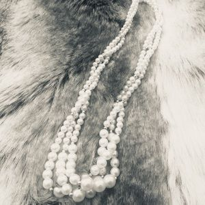 Jewelry - Vintage Faux Pearl Strands